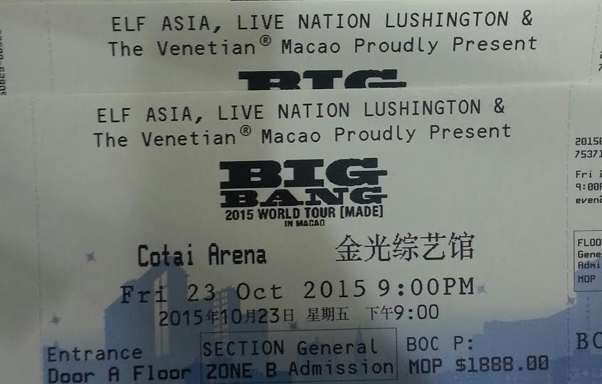 bigband  澳門演唱會10.23