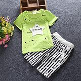 2016新款童裝男童女寶寶嬰兒童衣服短袖兒童套裝0-1-2-3-4歲夏裝