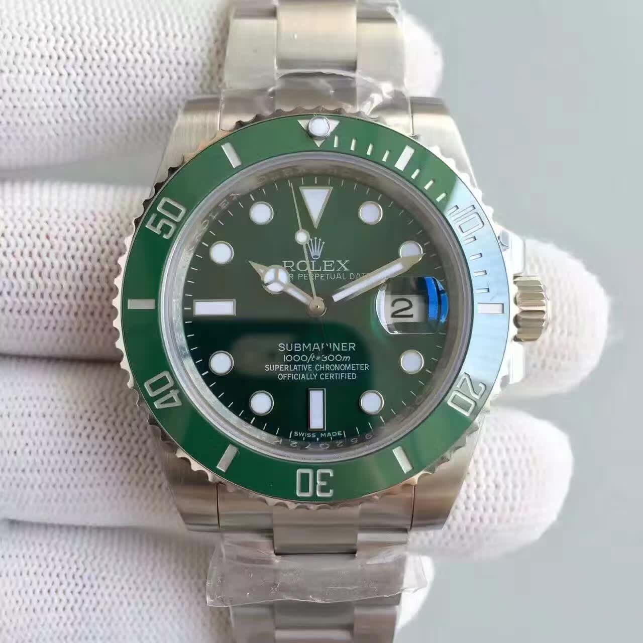 勞力士 Rolex  Submariner 116610   116610LV  錄水鬼 40mm