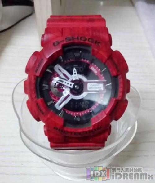 G-SHOCK手錶-經典5600系列(紅)