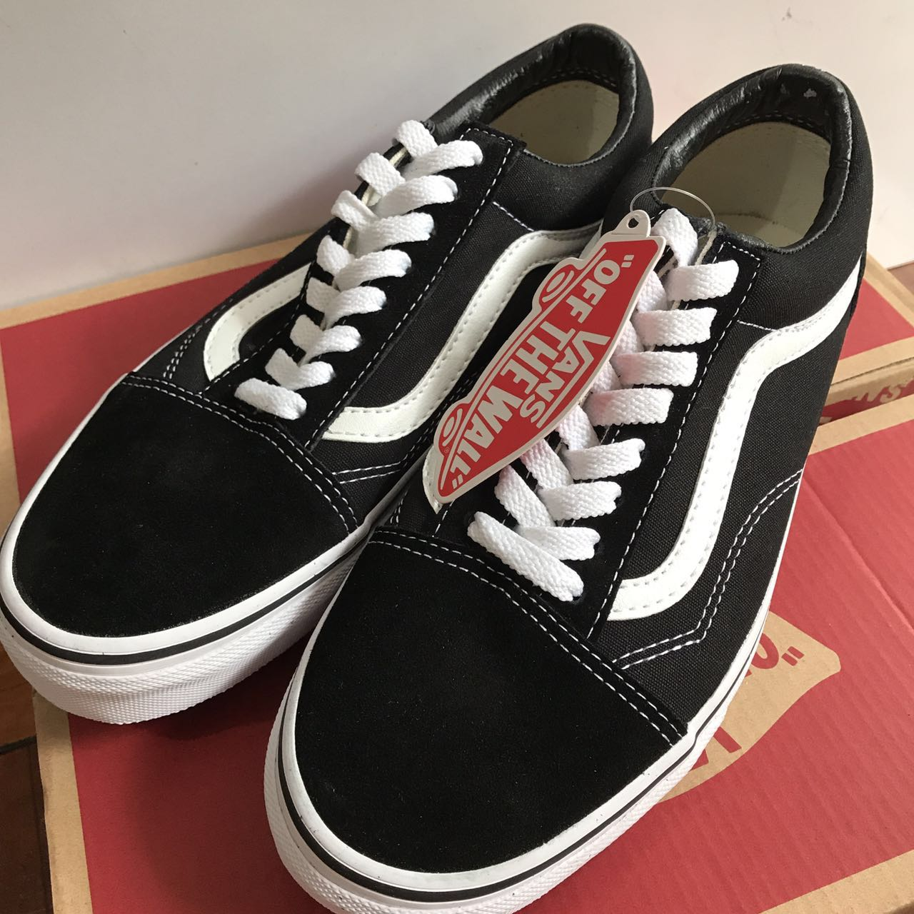 vans old skool黑白