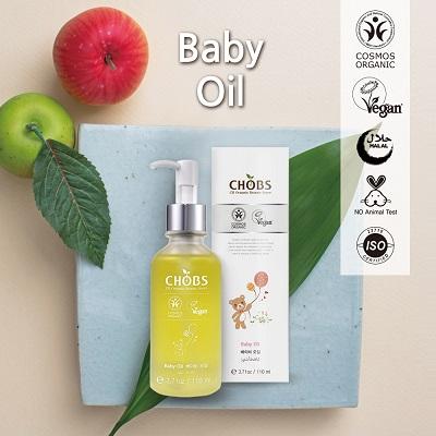 (CHOBS) 有機嬰兒潤膚油 110ml