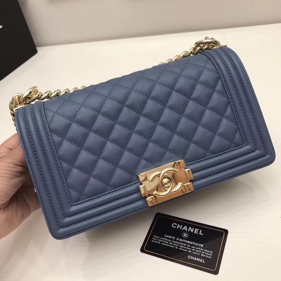 Chanel leboy 辣妈款鏈條包 原單品質  尺寸:25cm